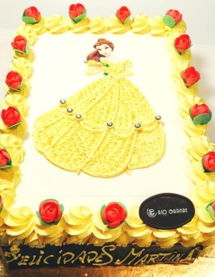 Tarta Princesa Bella - RioGrande Pastelería