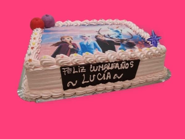 Tarta Cumpleaños Frozen - RioGrande Pastelería