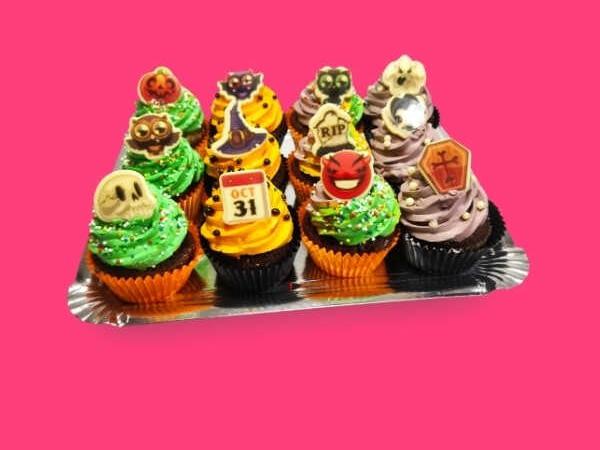 Cup Cakes Halloween - RioGrande Pastelería