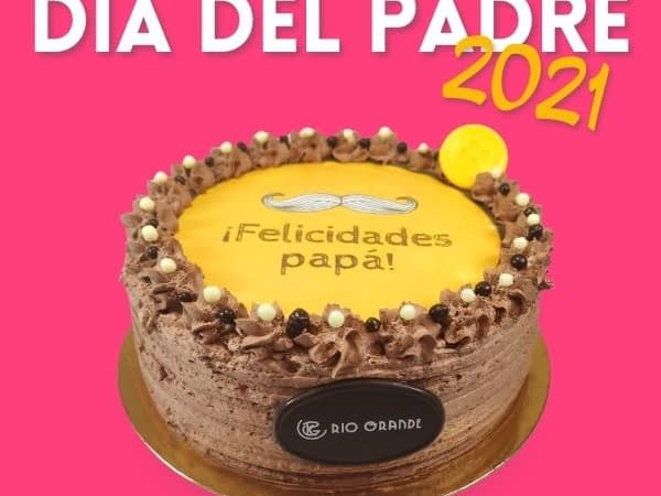 Tarta de Chocolate Especial Día del Padre - RioGrande Pastelería