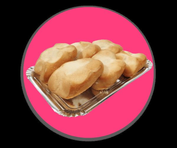 Bollos de Leche Minis 6 unidades - RioGrande Pastelería Córdoba