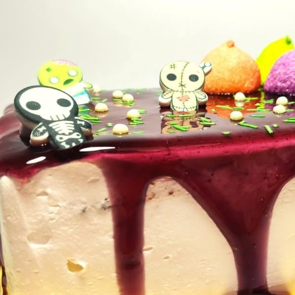 Tarta Nata Halloween- RioGrande Pastelería