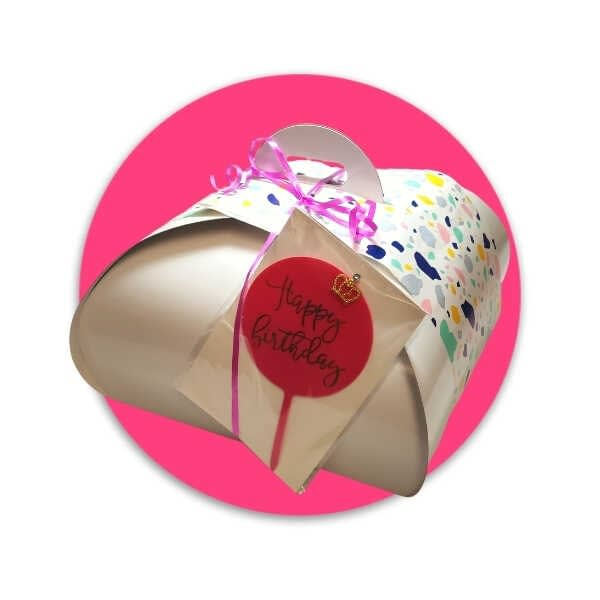 Caja Regalo Tarta Happy Birthday Mujer - RioGrande Pastelería