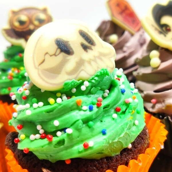 CupCakes Chocolate Halloween - RioGrande Pastelería