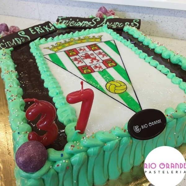 Tarta Fútbol Escudo Córdoba