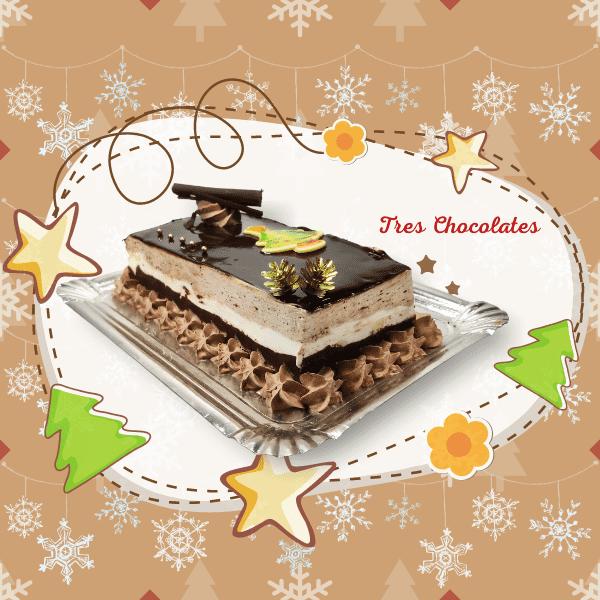 Sandwich Navidad - RioGrande Pastelería